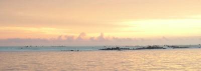 Die Insel Mosquera darf man nicht so einfach betreten. Dort können sich vor allem die Robben in den Morgenstunden ungestört fühlen. Es ist eine kleine sandige Insel.
