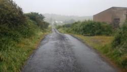Irish mist oder sogar schon echter Regen?