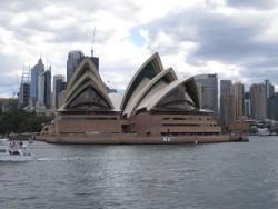 Die Oper von Sydney.